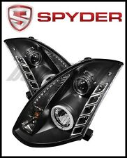 Spyder Projector Xenon/HID - CCFL Halo DRL Blk for 2003-2007 Infiniti G35 Coupe