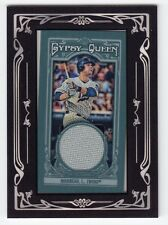 2013 Topps Gypsy Queen Mini Relic - Jersey - #GQMR-JMO - Justin Morneau - Twins