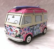 Kate Spade PWRU6381 California Dreaming 3D VAN Coin Purse Wallet Pink Car NWT