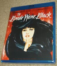 THE BRIDE WORE BLACK LIMITED EDITION TWILIGHT TIME BLU-RAY, NEW & SEALED, RARE!