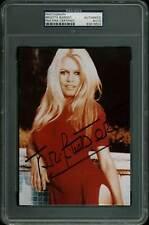 Brigitte Bardot Sexy Authentic Signed 5x7 Autographed PSA/DNA Slabbed