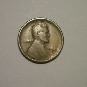 1922 VERY WEAK D LINCOLN CENT