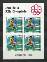 27447) Guinea 1976 MNH New Olympic G.Football S/S Bf