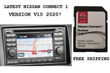 Latest Nissan Connect 1 LCN1 2020 sd map update Europe V10