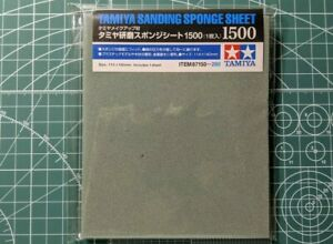 Tamiya Sanding Sponge Sheet 1500 (1pc) 87150