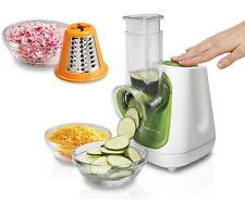 Electric Food Salad Processor Shredder Slicer Grater Chopper Vegetables Fruits