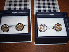 OX AND BULL CUFFLINKS 2 Sets Cufflinks Ox and Bull Trading Company BL-2041-TE