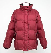 WOMENS EVERTON PUFFA JACKET DOWN PADDED WINTER RED SIZE XL XLARGE EXCELLENT