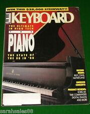 1988 KEYBOARD Magazine w- Soundpage Korg M1 Review, Keith EMERSON PIANO Retrofit