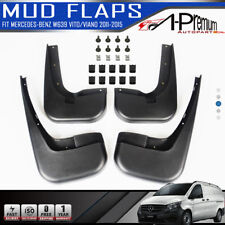Mud Flaps Splash Guards for Mercedes Benz W639 Vito Viano 11 2012 2013 2014 2015