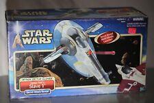 Star Wars Attack Of The Clones - Jango Fett's Slave 1 ship - Hasbro, 2001