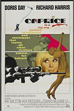 CAPRICE original 1967 27x41 one sheet movie poster DORIS DAY/RICHARD HARRIS