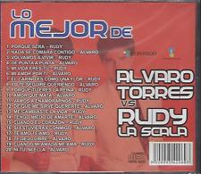 RARE cd balada 70s 80s ALVARO TORRES & RUDY LA SCALA porque tu eres la reina