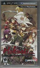Hakuoki: Warriors of the Shinsengumi  PSP **NEW**