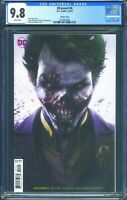 Dceased 4 (DC) CGC 9.8 White Pages Mattina Variant cover Joker