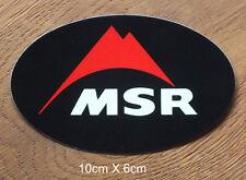 MSR Sticker Aufkleber Climb Climber Klettern Outdoor Trekking (S177)