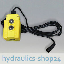 Kabelfernbedienung für Hydraulikpumpe / Hydraulikaggregate -  Fernbedienung
