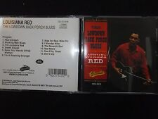 CD LOUISIANA RED / THE LOWDOWN BACK PORCH BLUES /