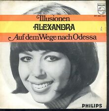 7inch ALEXANDRA illusionen DUTCH EX +PS