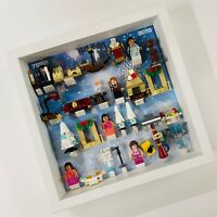 Display Frame for Lego Harry Potter Advent Calendar 2020 75981 no figures 27cm