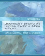 Characteristics of Emotional and Behavioral Disorders of Children and Youth...