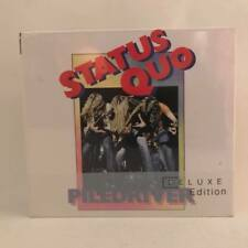 Piledriver [Deluxe Edition] [Digipak] by Status Quo (UK) (CD, Apr-2014, 2 Discs,