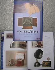 libro catalogo VOCI NELL'ETERE MARCONI old radios set d'epoca TSF Wireless RADIO