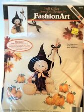 Vintage Dimensions Fashion Art Iron On Transfer Halloween Cutest Witch 80215