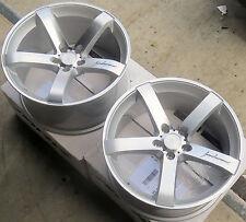 "18"" MRR VP5 Wheels For Audi A4 A5 18x8.5 / 18x9.5 +35 5x112 Silver Rims Set of 4"