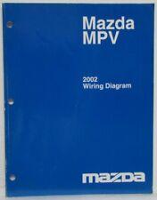 Service Repair Manuals For Mazda Mpv For Sale Ebay