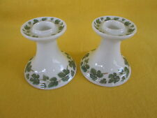"Hutschenreuther Weinlaub SET OF TWO CANDLE HOLDERS  ""have more items to set"""