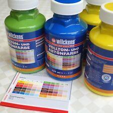 Wilckens Vollton- und Abtönfarbe 250 ml Acryl Farbe innen + außen