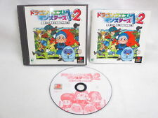DRAGON QUEST MONSTERS 1.2 1 2 PS1 Playstation Japan Video Game p1