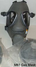 New NATO M9 style Finnish Military Gas Mask,Respirator with 40mm Filter exp 2023