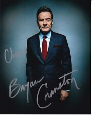 BRYAN CRANSTON signed autographed photo GREAT CONTENT