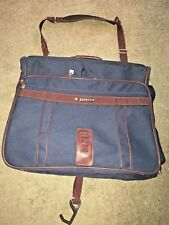 samsonite luggage garment/suit bag blue/red