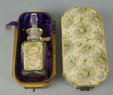 Antique J. Grossmith Parma Violet Perfume Bottle With Original Box