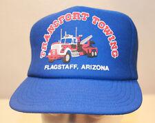 Vintage Transport Towing Flagstaff Arizona Hat Snapback Trucker Automotive