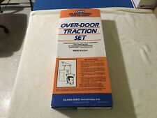 vintage DURO-MED OVER DOOR TRACTION SET FOR PHYSICAL THERAPY #2014