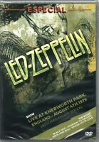 Led Zeppelin DVD Especial 1979 Brand New Sealed