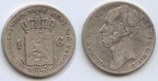 G10865 - Niederlande 1 Gulden 1846 KM#66 SEHR RAR Wilhelm II.1840-1849 Silber