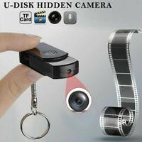 960P HD Pinhole Hidden Camera Mini USB Flash Drive U-Disk DVR Video Recorder