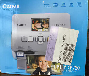 Canon 3501B001 SELPHY CP780 Portable Compact Photo Picture Printer Silver NEW