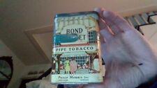 Vintage Bond Street Vertical Pocket Tin Pipe Tobacco Cigarette Philip Morris USA