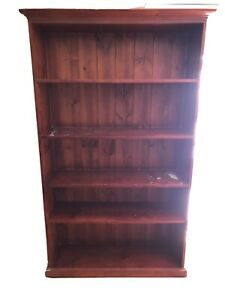 Wooden Rustic Bookshelves For Sale Shop With Afterpay Ebay