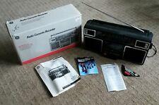 Vintage GE 3-5452 Stereo BoomBox Ghetto-Blaster AM/FM Cassette Radio IN BOX!!