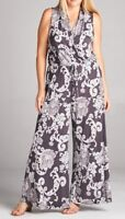 BNWT Winsome Woman Maxi Palazzo Pant Jumpsuit Sizes 14 to 18 CURVED BY NATURE