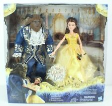 DISNEY BEAUTY AND THE BEAST LIVE ACTION DOLLS Grand Romance Belle Beast Set NEW