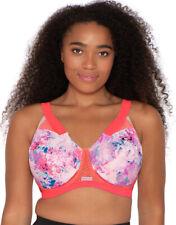 Berlei Bra Unpadded Sports Bra Cross Back 30DD 30E YYRK Pink Crystallized $54