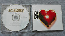 """BECK – """"DEADWEIGHT"""" PROMOTIONAL CD SINGLE"""